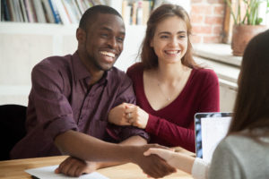 couple conseiller financier crédit