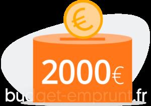 2000 euros