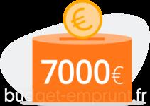 7000 euros