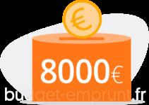 8000 euros