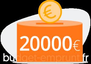 20 000 euros